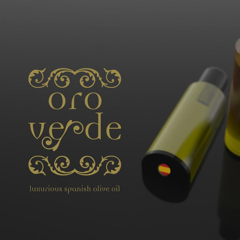 logo destacado Oro Verde Spanish olive oil. the Brand Doctor Agencia de Branding y Marketing Online