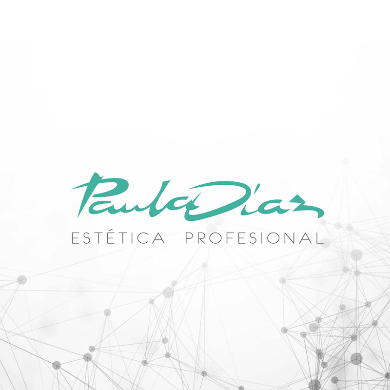 Logotipo destacado Paula Díaz estética profesional. the Brand Doctor Agencia de Branding y Marketing Online
