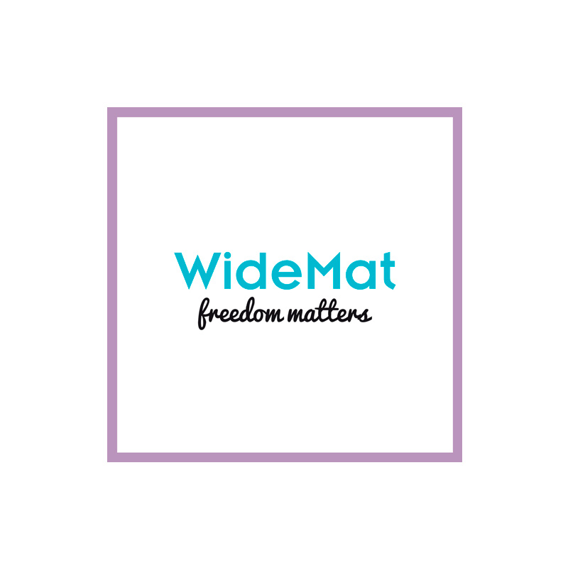 Logotipo WideMat yoga. the Brand Doctor Agencia de Branding y Marketing Online