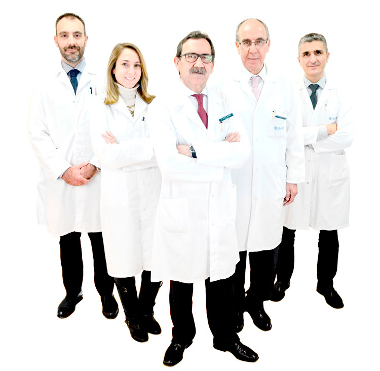 Equipo Ramírez Urología Ruber Internacional. the Brand Doctor Agencia de Branding y Marketing Online