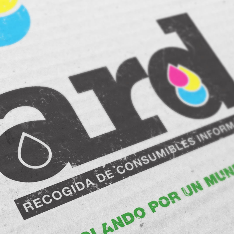 Logotipo destacado ard consumibles. the Brand Doctor Agencia de Branding y Marketing Online