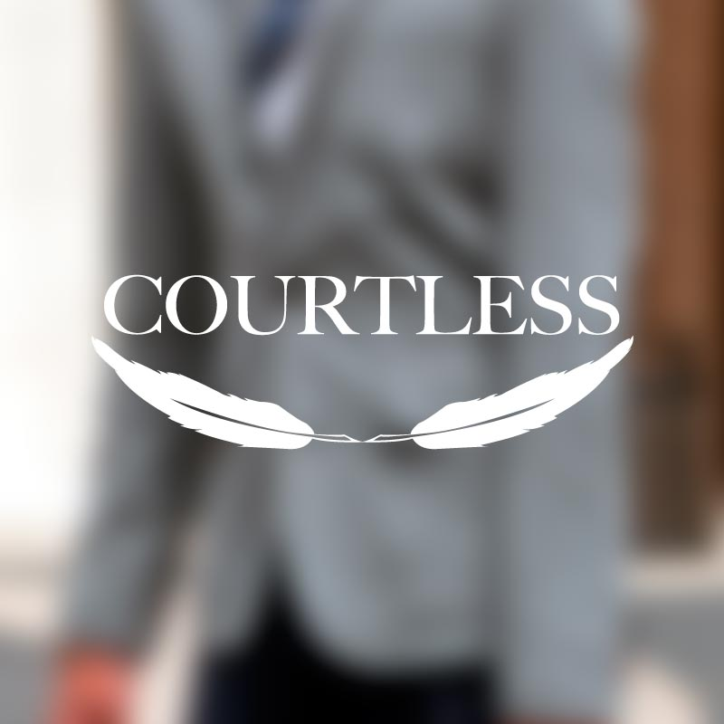 Logo destacado Courtless. the Brand Doctor Agencia de Branding y Marketing Online