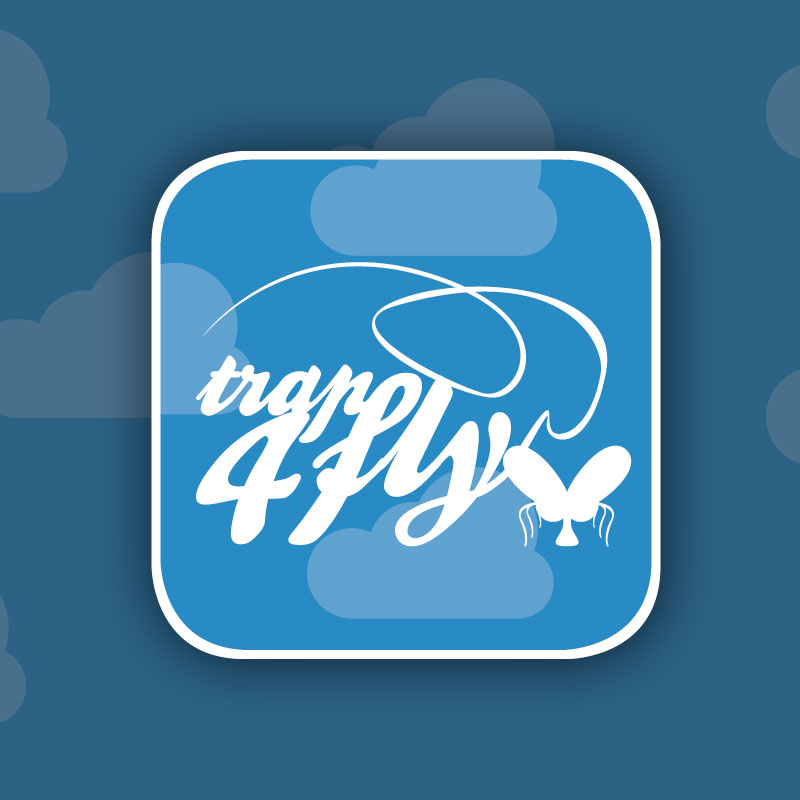 Logotipo destacado trap4fly. the Brand Doctor Agencia de Branding y Marketing Online
