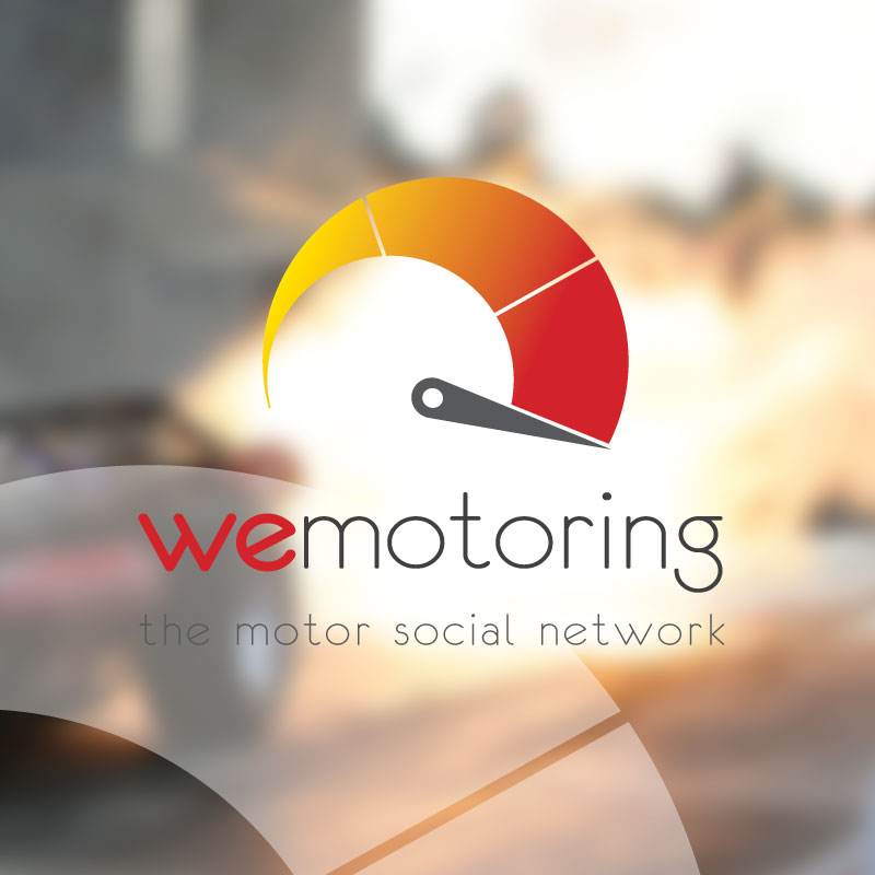 Logotipo destacado WeMotoring. the Brand Doctor Agencia de Branding y Marketing Online