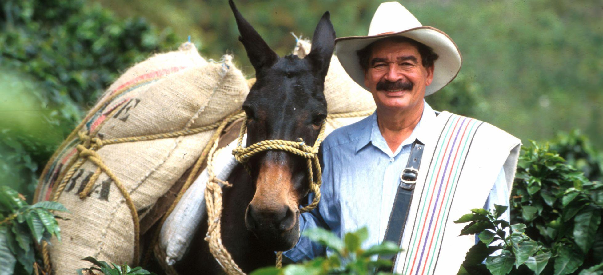 Juan Valdez y Conchita imagen mundial café colombiano