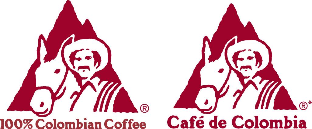 Logo calidad café 100% colombia