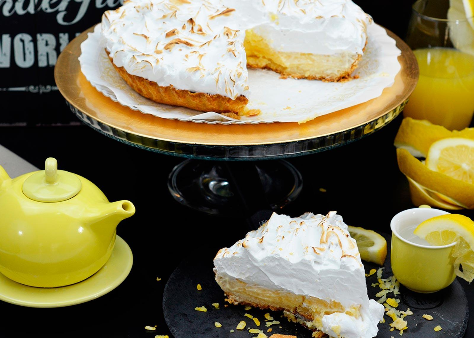 Tarta Pie de Limón delirios de tartas - the Brand Doctor Branding