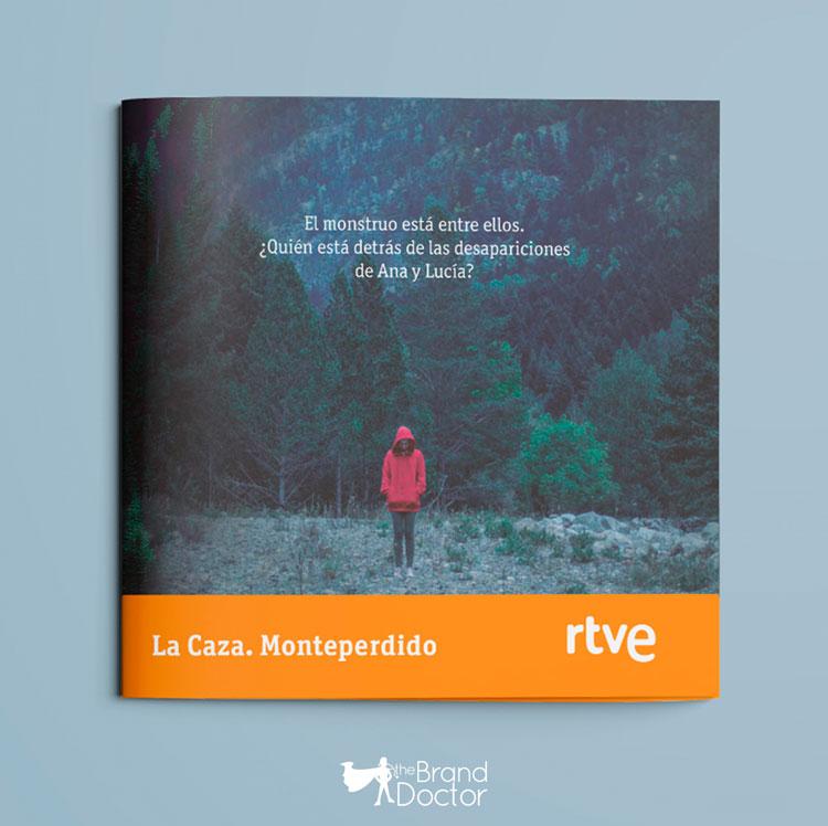 Díptico La Caza. Monteperdido RTVE - the Brand Doctor Branding